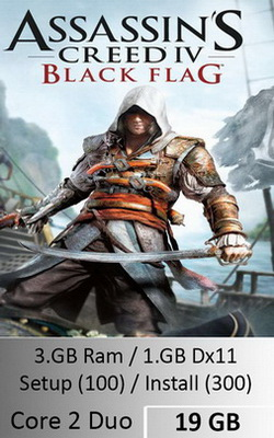 Assassins Creed Black Flag  [ 19 GB ]